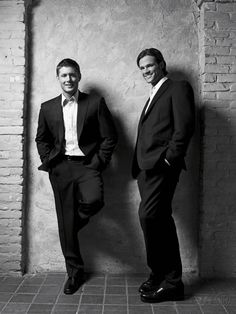 Jared and Jensen; #JensenAckles + #JaredPadalecki