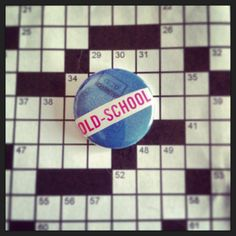 *old school* Collage pin by Daydream Studios and available in shops listed on the board