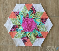Jaybird Quilts: Sweet Tooth Block 5 - Licorice Twist