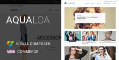 Aqualoa - WordPress Theme