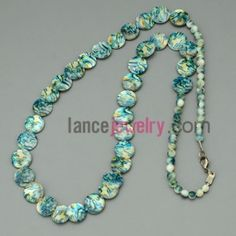 Gorgeous shell and bead necklace
