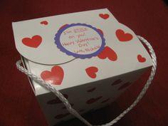 "Valentine's Day present for daycare/preschool teacher; sticker says ""I ..."