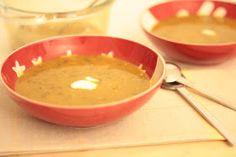 As Minhas Receitas: Sopa de Lentilhas e Frango com Especiarias