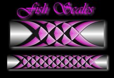 Fish Scales step by step Custom Rod Building Cross Wrap Pattern Facebook Page