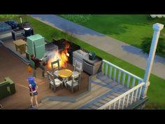 QUA VA A FUOCO TUTTO!!!!!! The Sims 4 #2 - YouTube