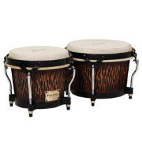 Tycoon Percussion STBS B CO Siam Oak Bongo Drum - Chiseled Orange
