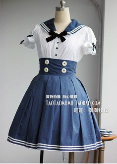 Sailor Lolita ~ Reminds me of Elizabeth's outfit in Bioshock Infinite