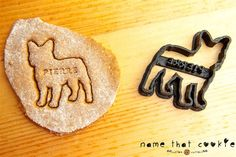 French Bulldog Cookie Cutter Custom Treat by NameThatCookie