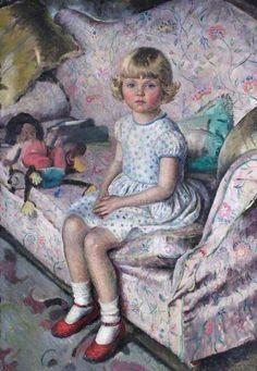 Jane Posing, 1931 by Cathleen Mann (1896-1959)