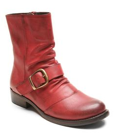Another great find on #zulily! Red Joshua Boot #zulilyfinds