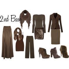 Example Zyla wardrobe: 2nd Base by a2jc4life on Polyvore