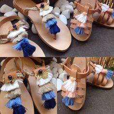 Handmade greek sandals!!! Greek islands!!'