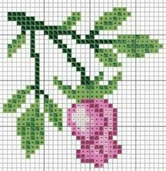 Linhas e Pontos Cross Stitch Rose, Cross Stitch Flowers, Cross Stitch Embroidery, Cross Stitch Patterns, Crochet Cardigan, Crochet Hats, Crochet Flowers, Pattern Design, Diy And Crafts