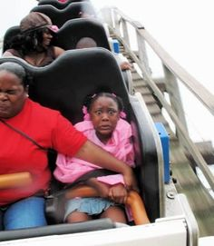The 16 Funniest Roller Coaster Faces of All Time