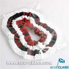 Clan MacQueen Tartan Garter