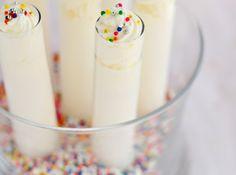 Birthday Cake Test Tube Shots