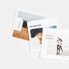 Off your device, into your life. These softcover books feature a warm textured eggshell cover and 100% recycled interior pages with designs built to fit your square images. Connect directly to your Instagram feed - no uploading required.