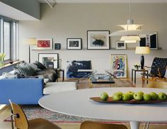 The Quinlan loft  in New York City's Gramercy Park area Images by Scott Frances and Paul Warchol.