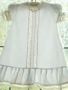 So sweet yet simple.  Heirloom Baby and Toddler Dress and Bloomer. 73  Imp Batiste