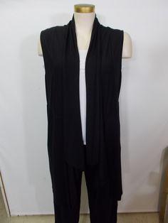 Chalet - Bamboo Black Hazel Long Vest