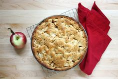 Deep-dish, Amsterdam style apple pie. Try another culture's take on a traditional holiday favorite.