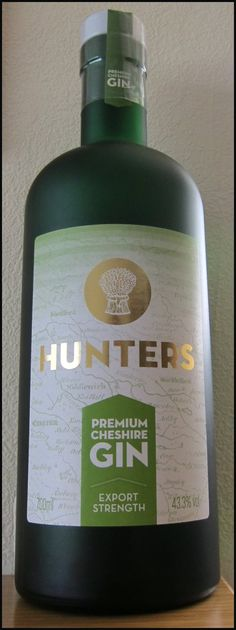 Hunters Gin Bottle