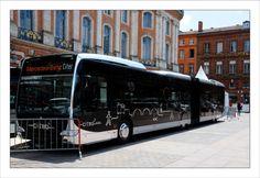 Le Tram'bus nimois à Toulouse Van Camping, Aquariums, Couches, Buses, Tango, Transportation, Cars, Vehicles, Vintage