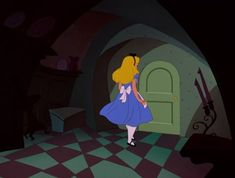 Screencap Gallery for Alice in Wonderland Bluray, Disney Classics). Disney version of Lewis Carroll's children's story. Alice becomes bored and her mind starts to wander. She sees a white rabbit who appears to be in a Disney Pixar, Disney Characters, Fictional Characters, Alice In Wonderland 1951, White Rabbits, Lewis Carroll, Beautiful Love, Aurora Sleeping Beauty, Animation