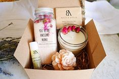 online shopping for Mom Birthday Gift Set, Spa Gifts Basket Mom, Relaxation Spa Gift Set You Awesome Mama from top store. See new offer for Mom Birthday Gift Set, Spa Gifts Basket Mom, Relaxation Spa Gift Set You Awesome Mama Birthday Gift Baskets, Mom Birthday Gift, Birthday Wishes, New Mom Gift Basket, Rose Geranium Essential Oil, Spa Gifts, Gifts For New Moms, Soy Candles, Special Gifts