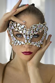 Mask - beautiful but I don't think I'd look too great in it