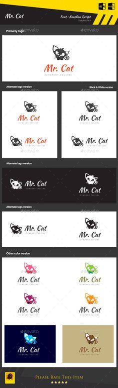 Hi Friends... My logo design... Mr. Cat... Pls visit and comment... it's only 29$...