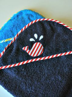 Hooded Baby Towel: Tutorial