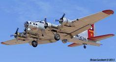 B-17 Flying Fortress 44-85740 Aluminum Overcast