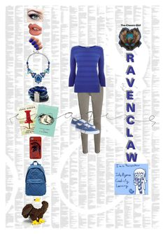 Ravenclaw by the-classic-girl on Polyvore featuring polyvore, fashion, style, Oasis, Frame Denim, Vans, Marc by Marc Jacobs, Hipanema, Style & Co., Charlotte Tilbury and Spineless Classics