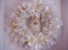 Image result for pearl christmas wreaths