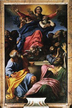 Annibale Carracci, Battesimo di Cristo, Chiesa dei Santi Gregorio e Siro, Bologna - Annibale Carracci - Wikipedia