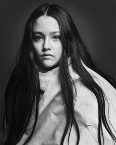 photograghed by Clive Arrowsmith when she was a teenager....Olivia Hussey.