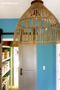 basket light + closet redo : storage for the entire family