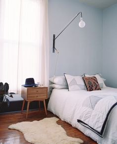 Mid-Century Bedroom Style Tips | @Pennyweight + west elm