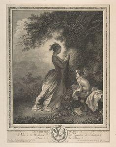 Le Chiffre d'Amour.  After Jean Honoré Fragonard  (French, Grasse 1732–1806 Paris).