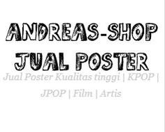 andreas shop jual poster film / movie poster