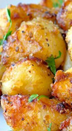 .garlic potatoes