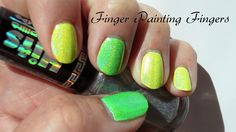 HITS Hefesto & Neons by Wet n Wild Spoiled colors by Finger Painting Fingers