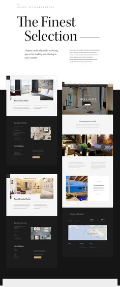 Adriatic Luxury Hotels is the collection of finest independent luxury hotels in Dubrovnik, Croatia. We created a visually attractive and responsive website to provide a user friendly experience for visitors from all devices. Hotel Website Design, Luxury Website, Design Hotel, Minimal Web Design, Graphic Design, Luxury Brochure, Brochure Design, Flyer Design, Web Layout