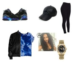 """""""Fashion Battle W @Queen.massa"""" by qveenkiki on Polyvore featuring Jordan Brand, Rolex, Sandro, Vianel and Givenchy"""