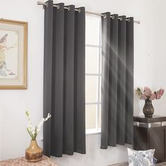 5 Best Blackout Curtains for Bedroom - CountryCurtains Insulated Curtains, Thermal Curtains, Grommet Curtains, Drapes Curtains, Bedroom Curtains, Block Out Curtains, Grey Blackout Curtains, Curtain Room, Custom Drapes