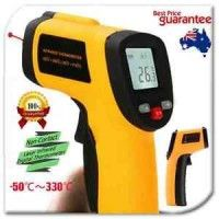 Portable Digital Infrared Thermometer Temperature Laser Gun Meter-50~330