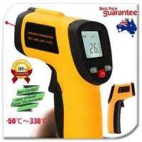 Portable Digital Infrared Thermometer Temperature Laser Gun Meter-50~330