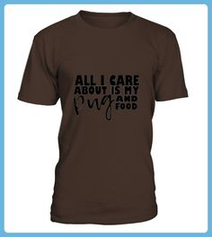 Men S All I Care About Is My Pug And Food Tshirt Large White (*Partner Link)
