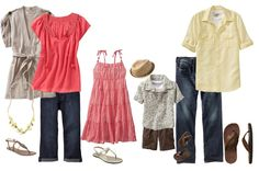 Summer Family Photo Outfit Ideas | ... my clients choose the best clothing options for their photo sessions